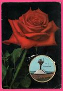 "Carte Parfumée De Luxe "" Vallazur "" - Parfum Rose De Fragonard - Ile De Noirmoutiers - Breveté S.G.D.G. - Duftkarten"