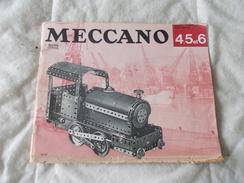 Meccano Manuel D'instructions Pour Boites 4 5 Et 6 Triang - Meccano