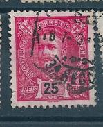 N° 131 Roi Charles 1 Er   Timbre Portugal (1895) Oblitéré Variété - Variétés Et Curiosités