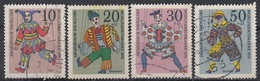 GERMANY Bundes 650-653,used - Puppets