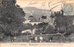 78-HARDRICOURT- ENVIRONS DE MEULAN, LE CLOCHER D'HARDRICOURT ET DE MAULAN - Hardricourt