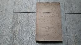 Complément Du Volume De 1875 Monnaie Numismatie  Henri II Charles V François III Or Argent Rare - Livres & Logiciels