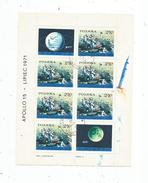 Timbre , POLOGNE , POLSKA , APOLLO 15 , LIPIEC 1975 , BLOC, Frais Fr : 1.55 Euros - Blocks & Sheetlets & Panes