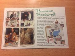 "U.S.A. ""Norman Rockwell - Four Freedoms"", Minisheet, Anno 1994 - Stati Uniti"