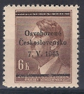 1945 Revolutionary Local Stamp  - Frenštat Pod Radhoštěm  - MNH** - Czechoslovakia