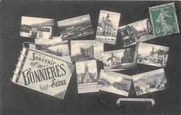 78-BONNIERES- MULTIVUES, SOUVENIR - Bonnieres Sur Seine