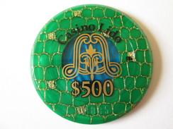 Lido Token Casino 500 $/Jeton De Casino Lido 500 $.Diameter/diametre=45 Mm - Casino