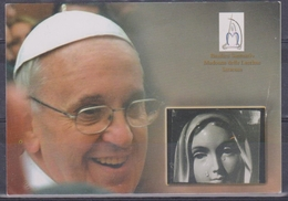 Papa Francesco E Madonna Delle Lacrime (fronte E Retro) - Santini
