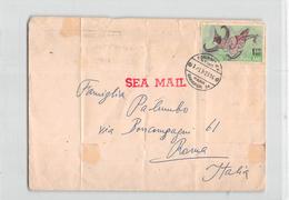 5884 04 THAILAND BANGKOK TO TOMA ITALY - 1963 - Thaïlande