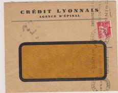 - Vosges - Credit Lyonnais D'Epinal - Timbre Perfore CL Type Paix - Perforés