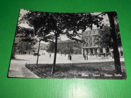 Cartolina Acqui - Terme - Piazza Italia 1951 - Alessandria
