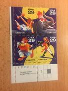"""U.S.A. """"Circus"""", Block Of 4, Anno 1993 - Nuovi"""