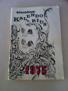 Lithuania Litauen Humorous Book Calendar 1975 - Boeken, Tijdschriften, Stripverhalen