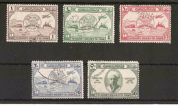 JORDAN 1949 UPU SET SG 285/289 FINE USED - Jordanien