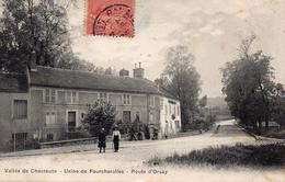 Vallée De Chevreuse- Usine De Foucherolles Route D' Orsay - Autres Communes