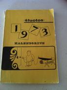 Lithuania Litauen Humorous Book Calendar 1973 - Boeken, Tijdschriften, Stripverhalen