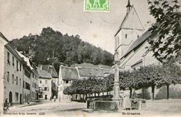 (35)  CPA Saint Ursanne   (Bon Etat) - JU Jura