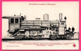 Locomotives Étrangères - Allemagne - Pour Trains Express Des Chemins De Fer De L'État Prussien - F. FLEURY - Treinen