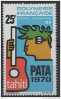 "Polynésie Aerien Yt 28 (PA 28) "" PATA "" 1969 Neuf** - Airmail"