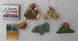CYCLISME VTT TRANS MAURIENNE VANOISE TOUR 1991 1995 .........  6 PIN'S      BBBB  167 - Radsport
