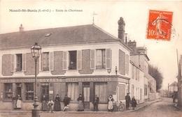 78-MESNIL-SAINT-DENIS- ROUTE DE CHEVREUSE - EPICERIE GEVRESSE , HÔTEL DES CHASSEURS - France