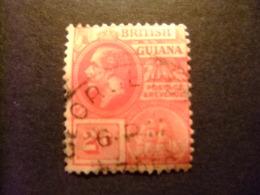GUYANE BRITANNIQUE 1913 - 17 GEORGE V Yvert 114 FU - British Guiana (...-1966)