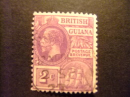 GUYANE BRITANNIQUE 1921 - 27 GEORGE V Yvert 128 FU - British Guiana (...-1966)