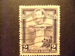GUYANE BRITANNIQUE 1938 -  45 CHUTES De KAIETEUR Yvert 163 FU - British Guiana (...-1966)