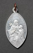 """Beau Pendentif Médaillon Médaille Religieuse """"Ste Anne / St Joseph"""" Religious Medal - Religión & Esoterismo"""