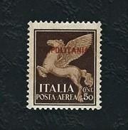 TRIPOLITANIA 1930 - Posta Aerea - Pegaso - 50 C. Bruno - MLH - Sa IT-TP A8 - Tripolitania