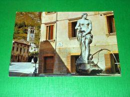 Cartolina Vittorio Veneto - Piazza Salsa - Fontana Degli Arditi 1980 - Treviso