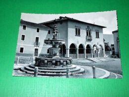 Cartolina Vittorio Veneto - Piazza Cattedrale - Loggia Del Sansovino 1950 Ca - Treviso