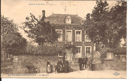 QUIVIÈRES - GUIZANTCOURT LA MAIRIE FELDPOSTAMT 1914? 21 ARMEE-CPS  PHOTO NANCY Royer 1094d3 - Autres Communes