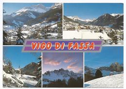 1987, Trento - Dolomiti - Val Di Fassa - Vigo..vedutine - Trento