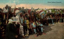Prix Fix  CROW INDIAN COUNCIL   INDIANS  Indios - Indios De América Del Norte