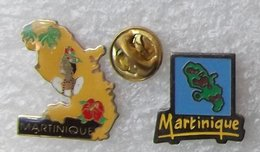 MARTINIQUE  2 PIN'S    BBBB  173 - Città
