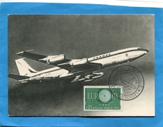 """""""BOEING 707"""" Gros Plan+Marcophilie-cachet XX° Salon Du Bourget  Aéronautique-mai 1961 - 1946-....: Moderne"""