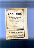 Annuaire Administratif Et Statistique Du Département De La SOMME Pour L'année 1954 - Picardie - Nord-Pas-de-Calais