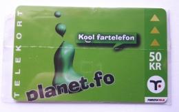 Planet.fo  50 Kr Faroe Island, Mint In Blister - Faroe Islands