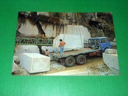 Cartolina Carrara - Alpi Apuane - Le Cave Di Marmo 1986 - Massa