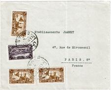 CTN49/09 - LIBAN LETTRE  DAMAS / PARIS JUIN 1939 - Liban