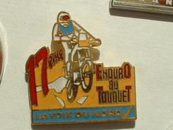 PIN´S MOTO - 17éme ENDURO DU TOUQUET - LA VOIX DU NORD - Motorbikes