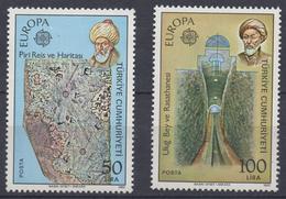 Q959.-. TURKEY- 1983- EUROPA CEPT. MNH-  PIRI REIS GEOGRAPHER  SCV: US$ 45.00 ++ - 1921-... Republik