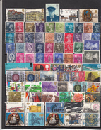 Grande Bretagne Lot De 100 Timbres Différents Avant 1980 - Collections