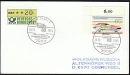 Germany Stuttgart 1985 / Cars, Motorbikes / Ama 85 / Auto Und Motorrad Ausstellung Stuttgart 85 - Motorräder