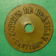 08 - Ardennes - Cantine Des Forges De Brévilly - Monetari / Di Necessità