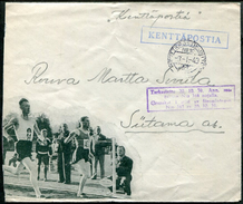 Finland 1940 Winter War Field Post KPK 19 Feldpost Olympic Games Jeux Olympiques Olympische Spiele Censored Cover Zensur - Olympische Spiele