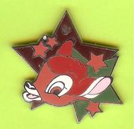 Pin's BD Disney Étoile Bambi - 3W14 - Disney
