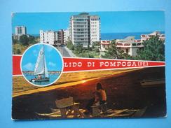 Lido Di Pomposa - Comacchio - Ferrara - Vedutine Panorama E Spiaggia - Ferrara