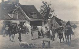 Salon 1905 - Louis GARDETTE - En Route - Militaria  Cheval  Cochon - Non écrite - Peintures & Tableaux